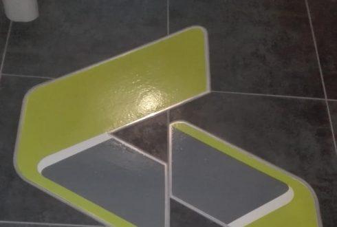 Réfection des sols dans un bureau