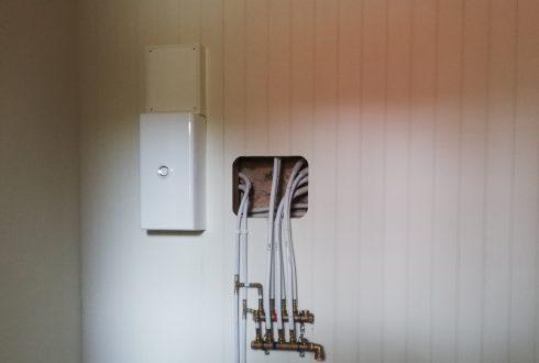 Réfection des réseaux électrique et sanitaire